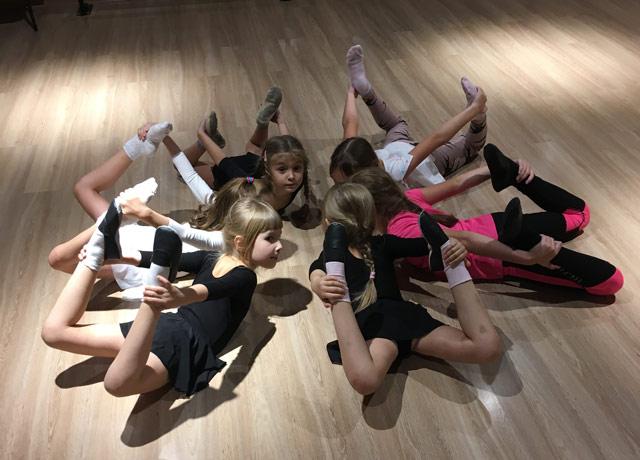 Эстетическая гимнастика кола танцев в Нижнем Новгороде «Динамо»